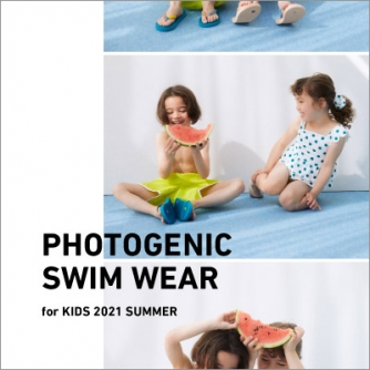 PHOTOGENIC SWIM WEAR for kids 2021SUMMER